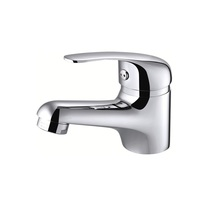 H0040281501 Chrome 1-Handle Single Hole Bathroom Sink Faucet bathroom faucets