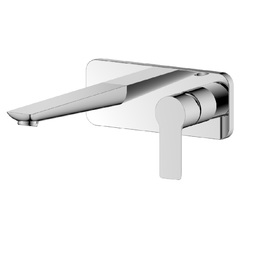 H00402844013 Chrome 1-Handle Wall-mounted Bathroom Sink Faucet  bathroom faucets