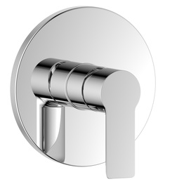 H0040284409 Chrome Single Lever Wall-mounted Shower Valve Mixer without Diverter bathroom faucets