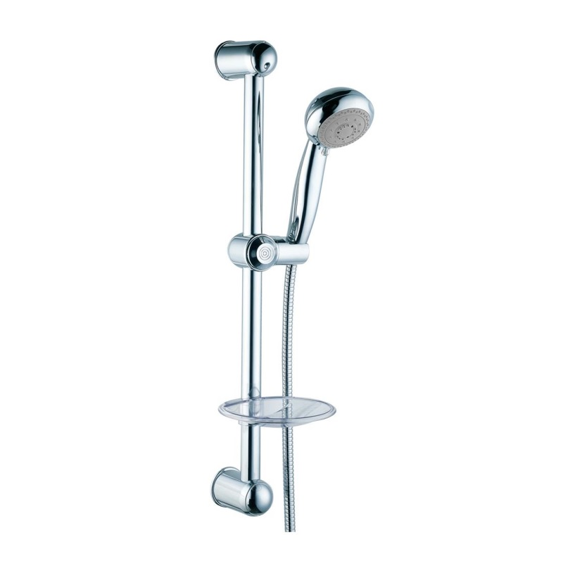 H01303B20204031 Multi-Function Handshower with Slide Bar Kit, Chrome Finish