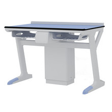 Z Style Alloy Aluminium Study Table lab furniture school lab furniture