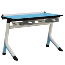 A Style Steel Wood Study Table lab furniture school lab furniture