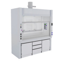 PP Benchtop Mounted Fume Hood Fume Cupboard  lab furniture science lab furniture