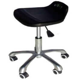 Five Legs Height-Adjustable Low Back Chair lab furniture lab chair laboratory chair laboratory stool