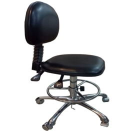 Five Legs Height-Adjustable/Back Adjustable Chair lab furniture lab chair laboratory chair lab stool laboratory stool