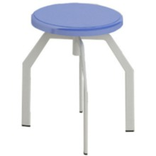 Four Legs Height-Adjustable Stool lab furniture