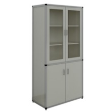 Alloy Aluminium Wood Instruction Case &Cabinet laboratory furniture science lab furniture