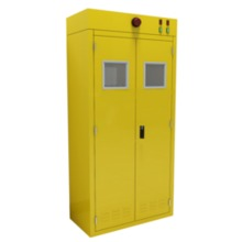 Double Gas Cylinders Cabinet laboratory furniture science lab furniture