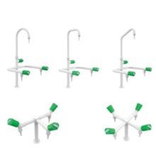 Triple Spout Water Faucet   school lab furniture science lab furniture