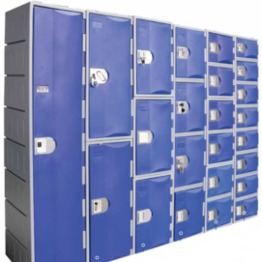 High Density PE Storage Cabinet & Locker for School, Office