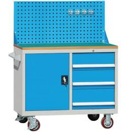 Mobile Workbench Industry Workstation with Tool Cabinet