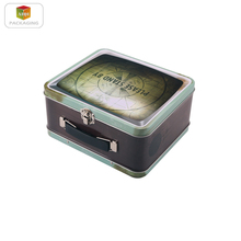 lunch tin box metal tin box food storage containers with lids