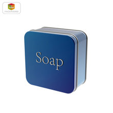soap tin box square tin box metal gift box