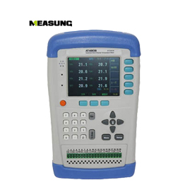 AT4808,8 Channels Handheld Temperature Recorder