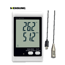 DWL-21E,Sound Light Alert Large LCD External Probe USB Temperature Humidity Data Logger