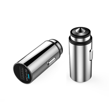 Top Selling Mini Silver Metal Mobile Phone Car Charger