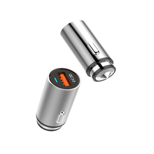 Single Port Fast Charging Stainless Steel Car Charger