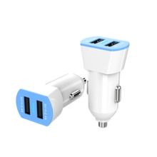 Multi Function Usb Dual Car Charger Car Adapter For Charge