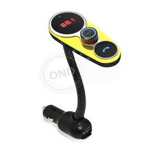 Popular Fm Transmitter Hands Free Bluetooth Charger