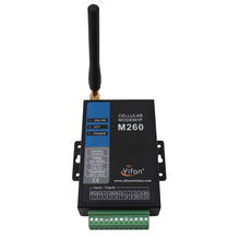 GSM industrial Modbus modem with SIM card slot
