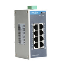 FOWAY4208T     8 10/100M RJ45  Din Rail Industrial Ethernet switch