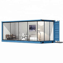 20ft 40ft fast Install luxury container house german finished container van house
