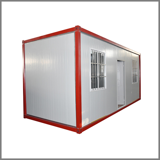 China 20ft flat pack shipping container houses shipping container office easy assembled house