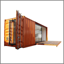 Prefabricated luxury expandable 40ft shipping container house container home
