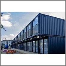 Colorful modified prefabricated shipping container hotel Australia Philippines Malaysia