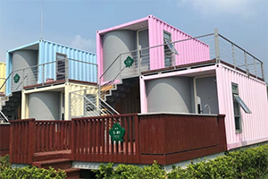 modified container hotel