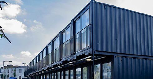 Ten world famous modified shipping container hotel