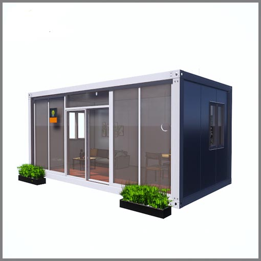 fast install container coffee shop
