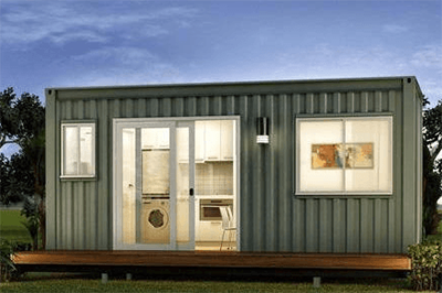 flat pack shipping container