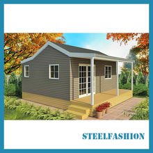 108sqm light steel manufactured homes