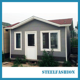50sqm small cheap steel frame house