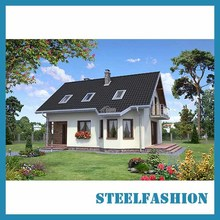 Metal frame house kits  2storey economy designed