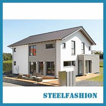 Modern steel house European style small size