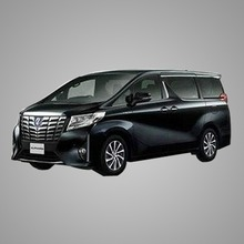 Japan Toyota Alphard Airport car rental Transfer For Holiday