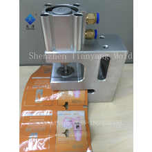 Round corner Hole Punching Machine For Plastic Bag  hole puncher small