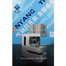 Pneumatic hole puncher plastic bag packing machine for sale