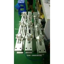round corner hole punch machine packaging automation
