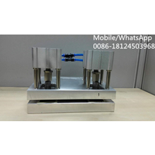 Special handle hole punch machine 2 molds a half round hole