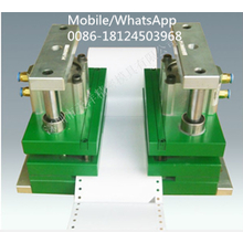 Pneumatic hole puncher express bill paper multi hole puncher