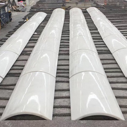 China Pure White Marble Column