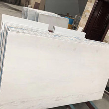 Polaris Classic White Marble Tiles with Aluminum honeycomb