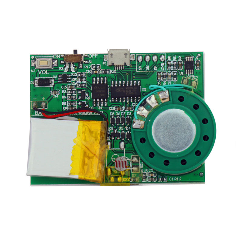 recordable miniature sound module