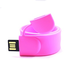 Silicone wrist usb 2.0 flash drive