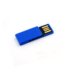 Mini book clip plastic usb flash drive mini usb