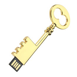 Key shape metal USB Flash Drive memory flash drive