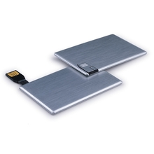 Metal card shape usb 2.0 flash drive memory stick